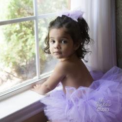 littlegirl at window