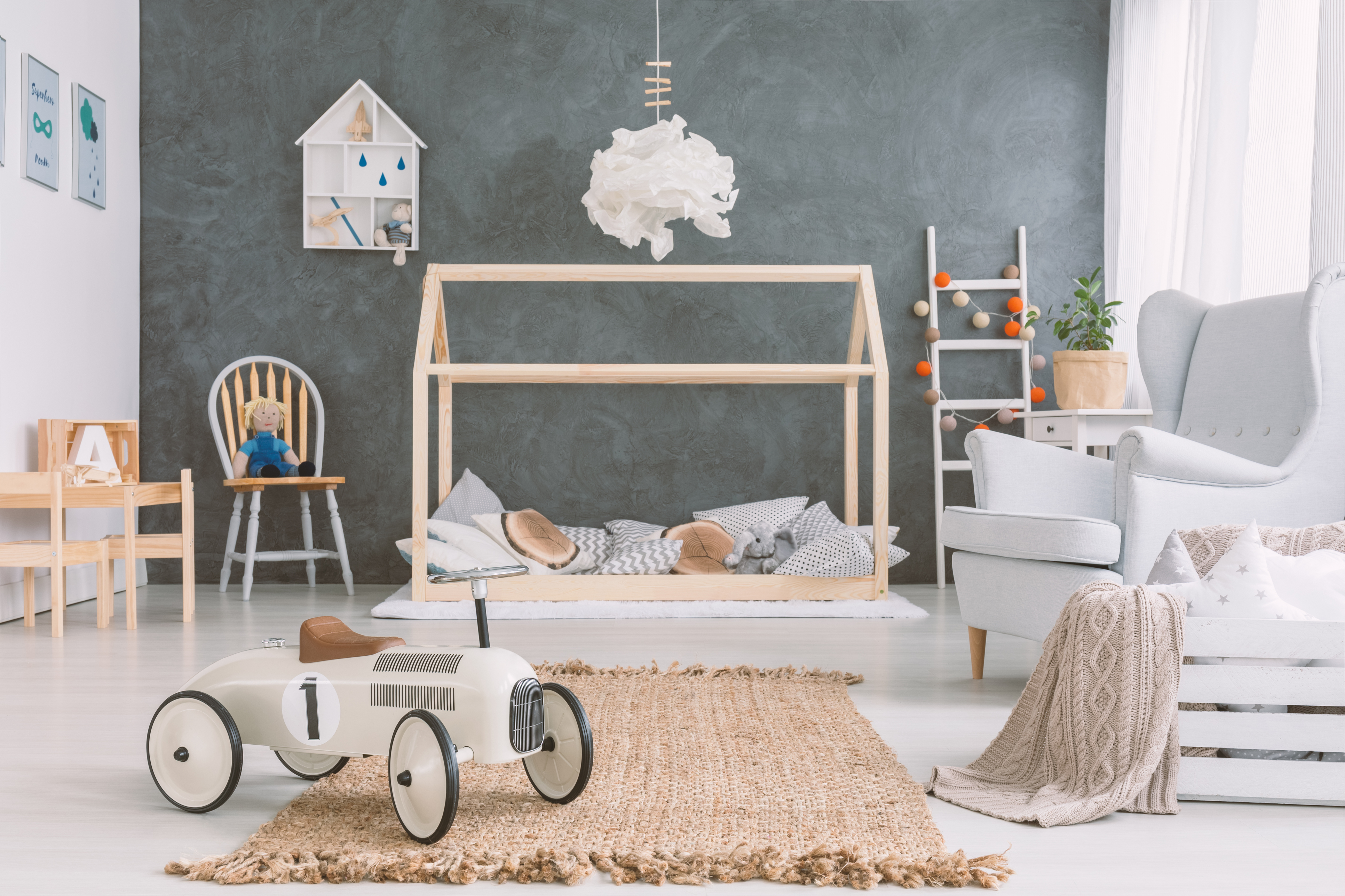 Alisa Murray Interiors   Preparing the perfect Nursery with Auntie A!